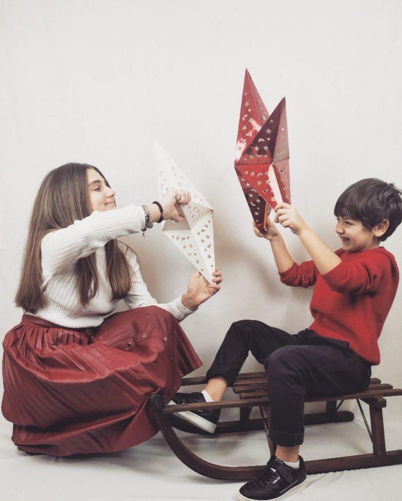 gruppocasillo sdressedmom fashionkids feste natale2020 yclu rosso shone