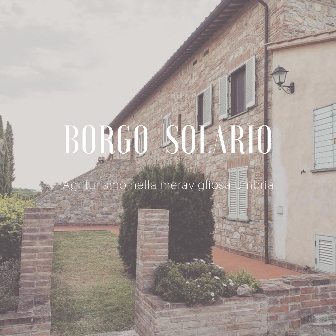 BORGO SOLARIO – un agriturismo nel cuore dell'Umbria