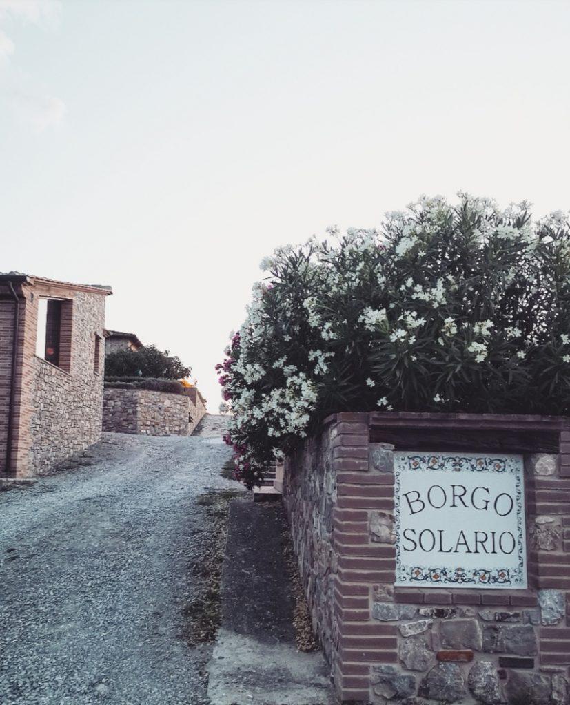 borgosolario agriturismo umbria castiglionedelago vacanze relax
