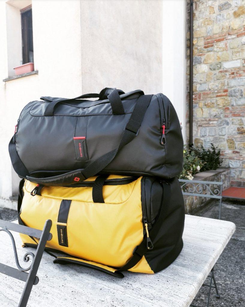 borgosolario agriturismo umbria castiglionedelago vacanze relax viaggi paradiver samsonite valigie borsoni