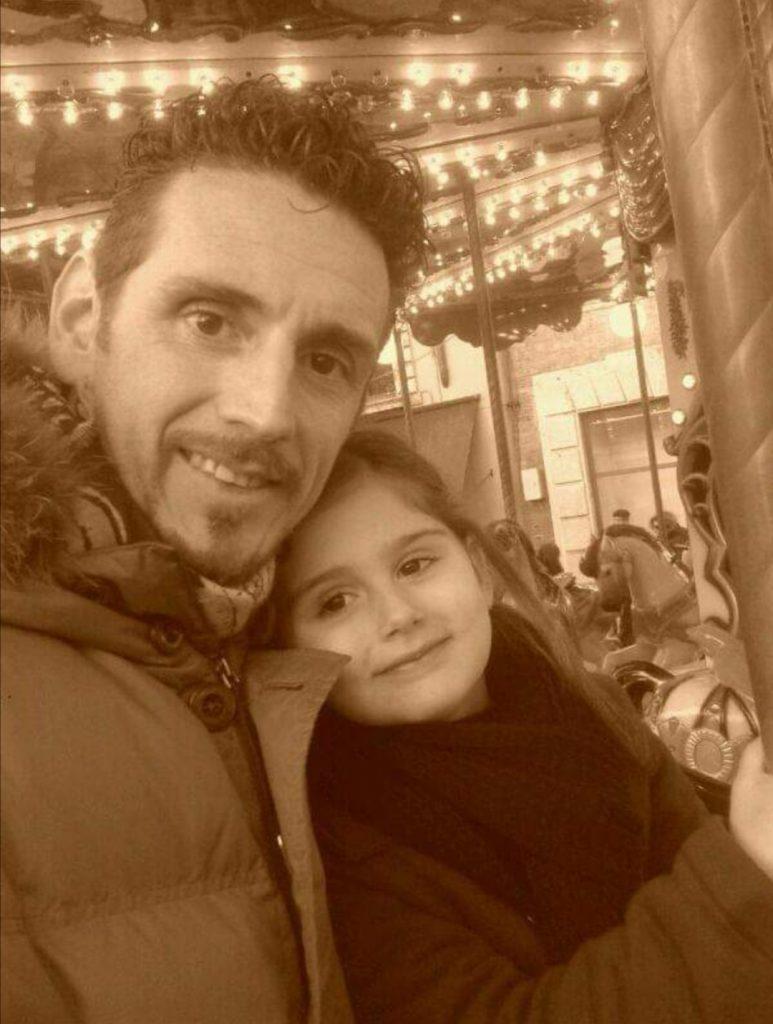 babbo figlia padre genitore amore crescere Londra